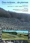 balade,rivière de pierres,géologie